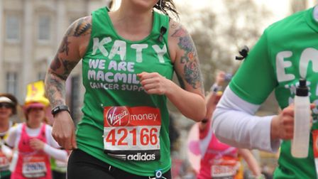 Katy Owen has raised more than �12,000 for cancer charities by completing a transatlantic challenge