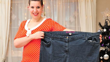 Slimmer, Karen Mitchell from Yarmouth has lost 11 stone in 18 months.