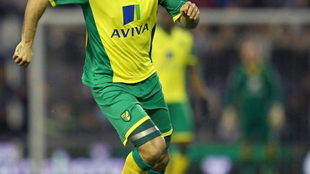 Norwich City's Bradley Johnson has overcome tougher times in his career. Picture by Paul Chesterton/