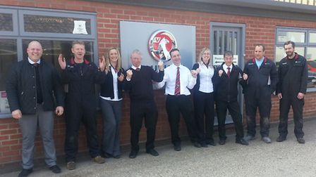 A team from Holt Vauxhall retailer Thurlow Nunn topped the league table in the 13th series of the Br
