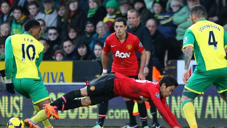 Norwich City's 1-0 Premier League defeat to Manchester United increased the pressure to pick up poin