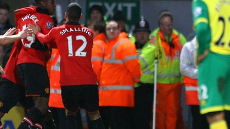 Manchester United boss David Moyes believes Danny Welbeck's half-time arrival changed the course of