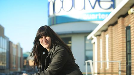 Abbie Panks is the manager at the Vancouver Quarter in King's Lynn. Picture: Ian Burt