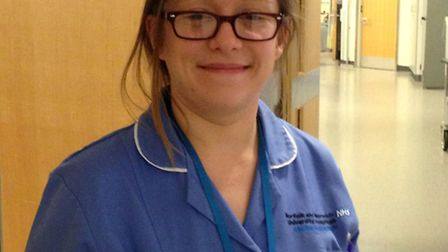 Learning disability liaison nurse Tara Webster will work with in-patients and out-patients at the No