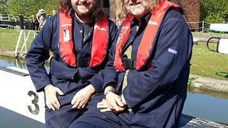 The Hairy Bikers at the Waterways Museum