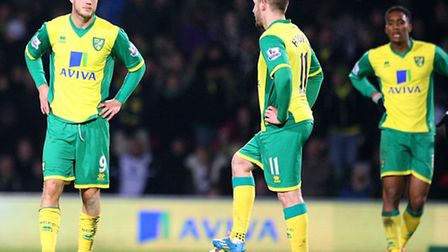 Norwich City squandered the chance for Premier League progress against Fulham on Boxing Day. Picture
