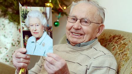 Percy Norton from North Tuddenham is celebrating his 100th birthday on the 27th December. Picture: M