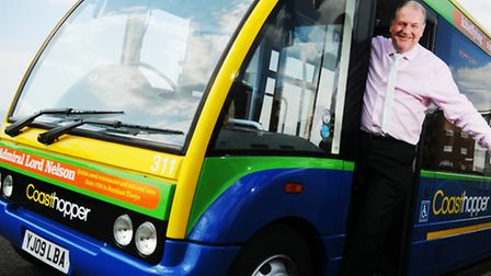 Ben Colson, managing director of Norfolk Green, which has been sold to Stagecoach Bus Holdings. Photo: Ian Burt.