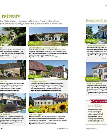 Find your ideal French property in the October issue of Living France