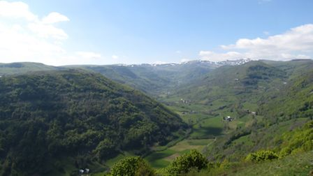 The Brezons valley in Cantal © Emma Rawle