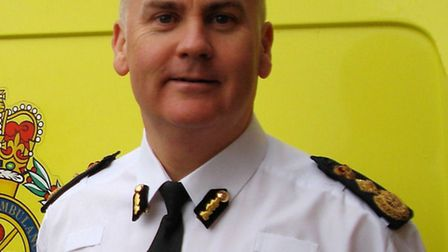 Anthony Marsh, who has been confirmed at the new chief executive of the East of England Ambulance Service.