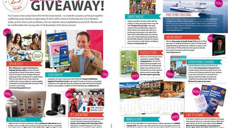 Win dozens of great prizes in our birthday giveaway!