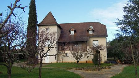 Traditional house in Figeac