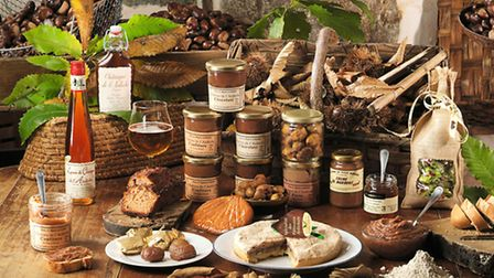 Products made from chestnuts © C. Fougeirol /ADT07