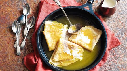 Crepes Suzette © Snap and Stir