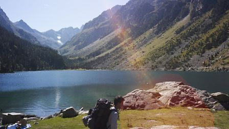 Hiking in the Pyrenees © L'Ancienne Poste Avajan