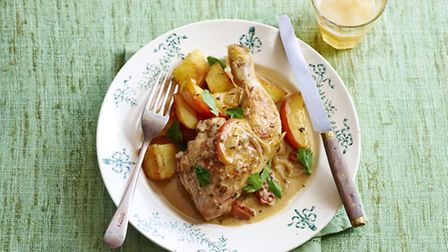 Poulet Vallee d'Auge © Snap and Stir