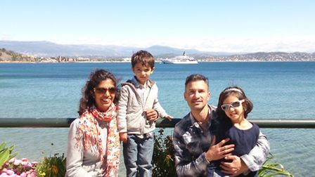 The Dumont family on the Cote d'Azur