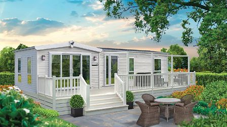 The new Willerby Chambery mobile home
