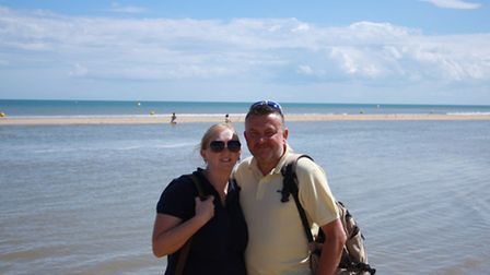 Tracy Whelan and her husband Martin