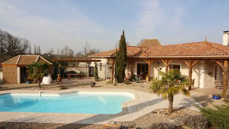 Contemporary house in Charente
