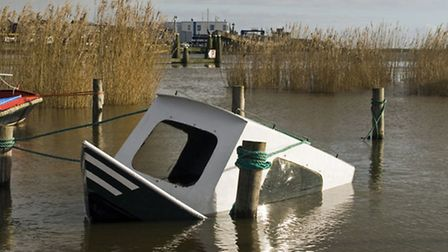 Even if you're prepared to take the loss, your boat can still cause expensive damage