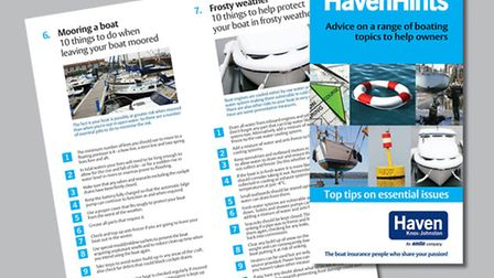A free booklet for boat owners is available