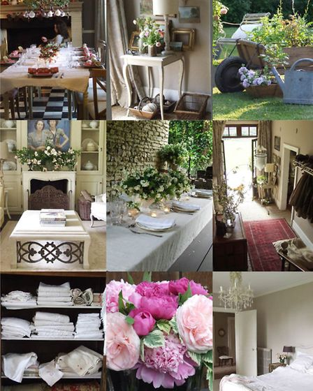 French country style © www.sharonsantoni.com