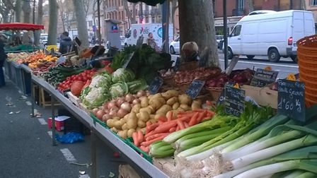 The local market in Toulouse