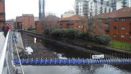 Birmingham canal reopens after engineers completed repairs.