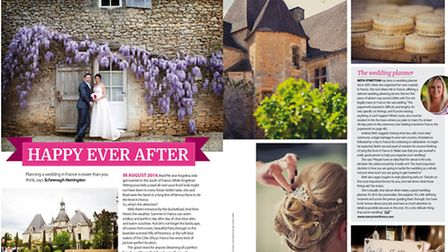 Find out how to plan a wedding in France in the April 2015 issue of Living France