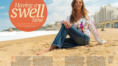 Meet an expat family in Biarritz in the APril 2015 issue of Living France