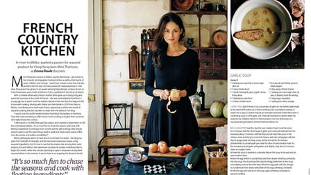 We share some recipes from a new cookbook in the April 2015 issue of Living France