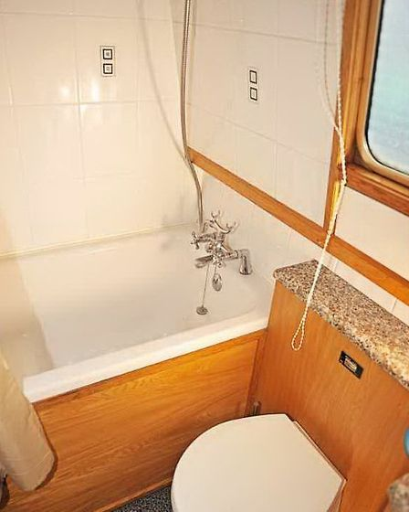 Many boaters crave a bath in their bathroom, yet it's not often we see a boat with one fitted.
