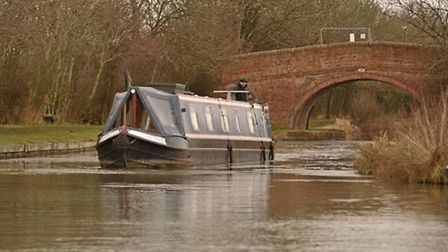 The boat handles nicely and turns very well. It even goes fairly straight in reverse.