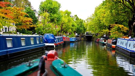 Cruising the Regent's Canal
