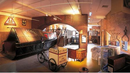 Inside the London Canal Museum