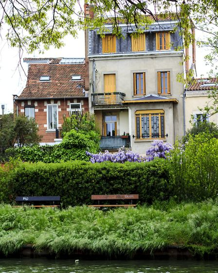 French properties over-looking the Canal du Midi
