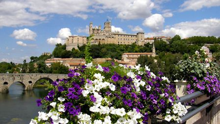 Beziers and the Pont Vieux © Janine Marsh