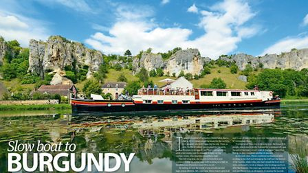 An expat cruising Burgundy's canals in the May 2015 issue of Living France