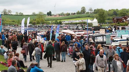 Crick Boat Show saw a good turnout of visitors this year
