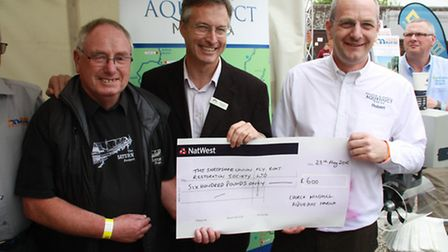 Church Minshull Marina and the businesses located there, clubbed together to raise £600 towards keep