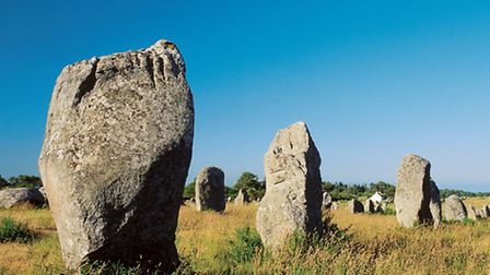 Carnac's standing stones date from 4000BC ©Yannick Le Gal CRTB