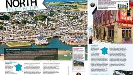 Compare the north and south of France in the June 2015 issue of Living France