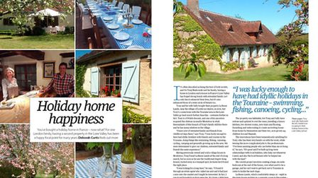 Meet a family with a holiday home in the Loire Valley in the June 2015 issue of Living France