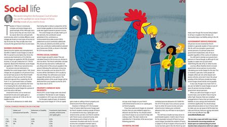 Social charges explained in the June 2015 issue of Living France