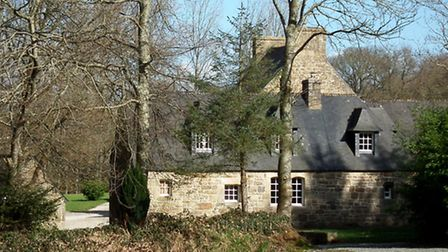 Historic mansion house in Brittany