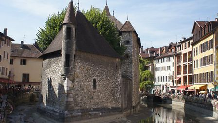 Annecy old town © Vintage French