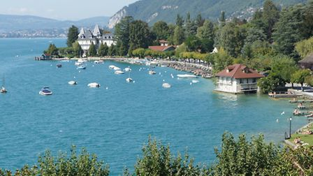 Lake Annecy © Vintage French