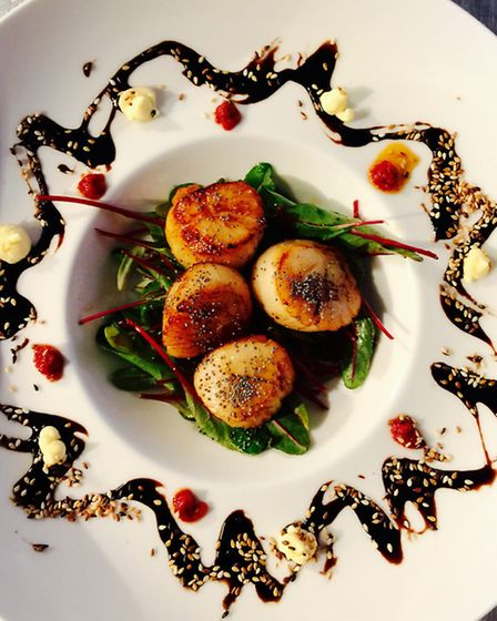 A traditional dish prepared by chef Cyrille Guiliani at Terre et Mer